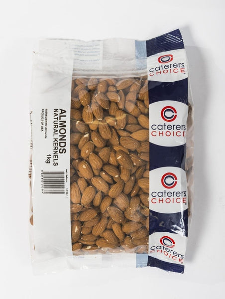 Almonds Raw Kernels 1Kg Pkt