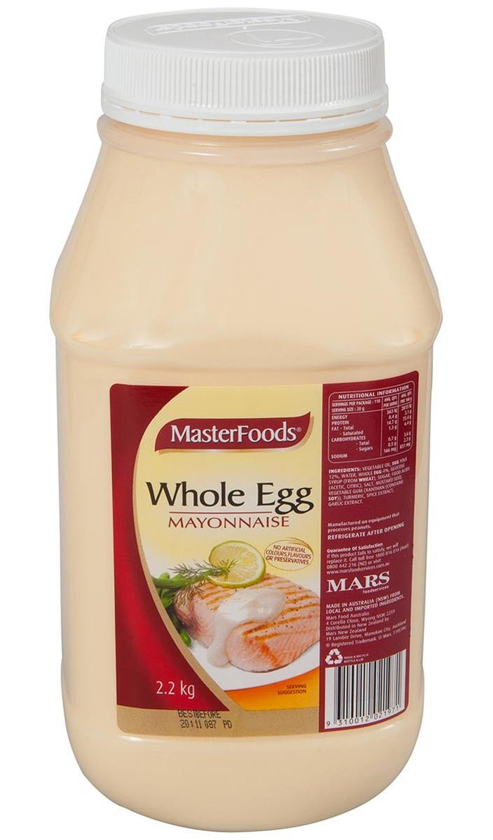 Mayonnaise Whole Egg 2.2Kg Btl