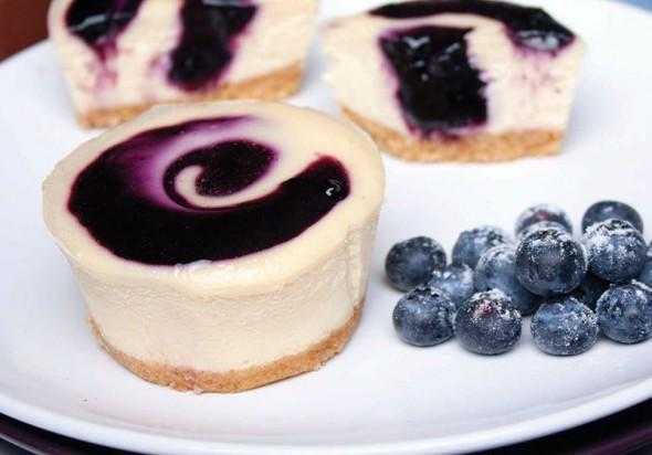 Cheesecake Blueberry Individual 8x100gr Tray *