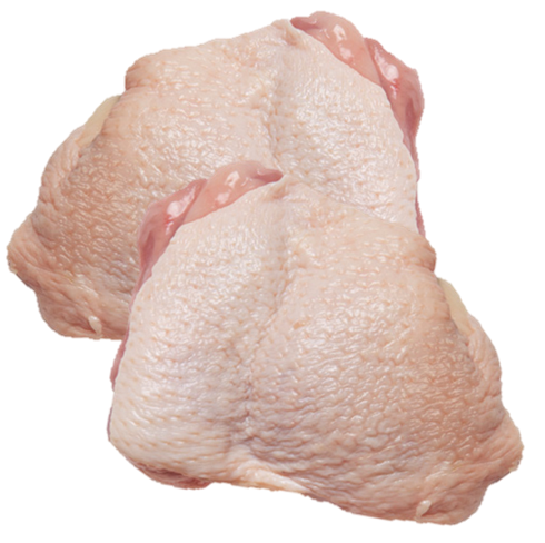 Chicken Thigh Fillets Skin On 1Kg