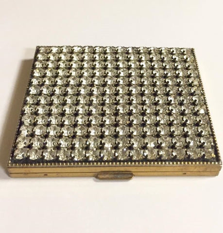 Rhinestone Compact Mid Century LATEST LISTINGS