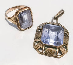 NOW SOLD Aquamarine Ring 14K Gold, Edwardian Vintage Fine Jewelry