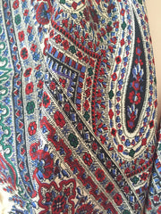 Liberty Paisley Silk Scarf, Arts & Crafts Vintage