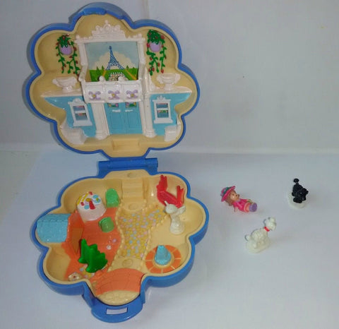 Complete Polly Pocket, Fifi Parisian Apartment, 1990s  Vintage Toys
