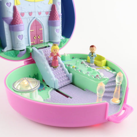 Complete Polly Pocket, Starlight Castle, 1990s  Vintage Toys, Slightly Faded Top
