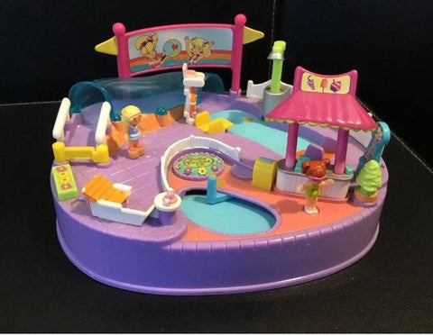 Complete Polly Pocket, Pool Party, 1990s Vintage Toys