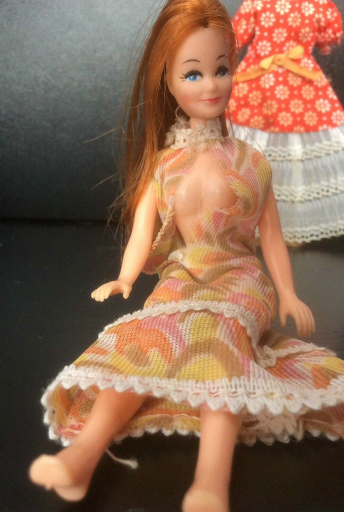 Pippa Tammy vintage doll from the 1970s manufactured by Palitoy, Original Dress, 1970s  Vintage Toys RARE