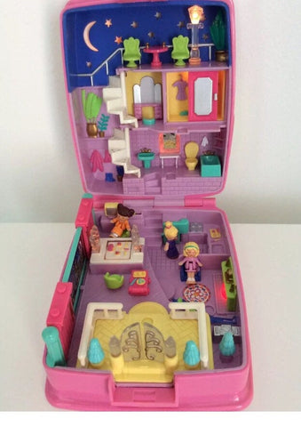 Complete Polly Pocket, Star Bright Dinner Party, 1994  Vintage Toys