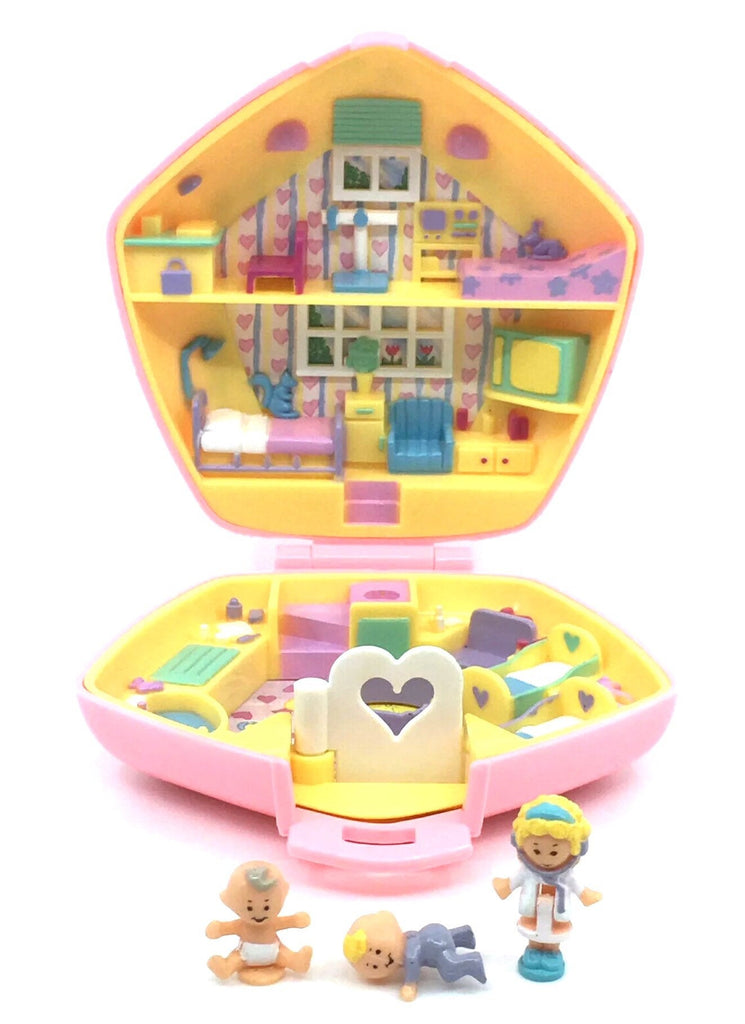 Complete Polly Pocket, Polly in the Nursery 1992, Vintage Toys