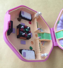 COMPACT ONLY, Polly Pocket Japanese Suki, 1990s  Vintage Toys