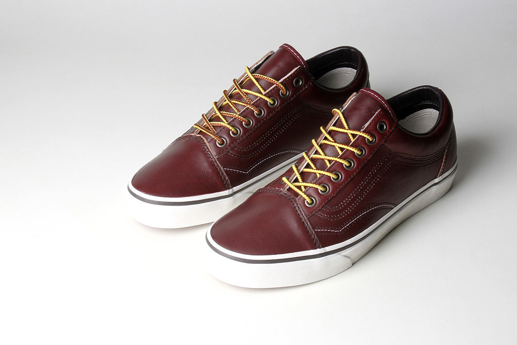 c2d1dd95d77c The Vans Groundbreakers Sk8-Hi and Old Skool both feature classic colored  hiker style rope lacing fixed through metal eyelets