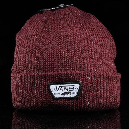 vans mini patch beanie in red vast selection where to buy