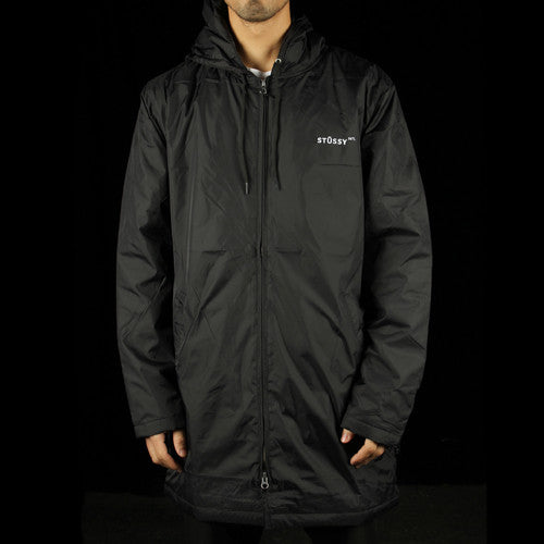 Insulated Long Hooded Coaches Jacket