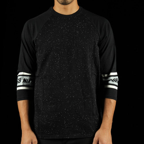 Dri-Fit 3/4 Sleeve Nepps Crew T-Shirt