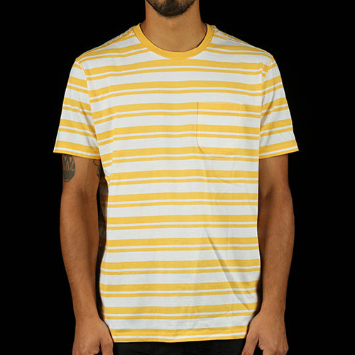 6988e56c7ce342 Striped Pocket T-Shirt – Premier