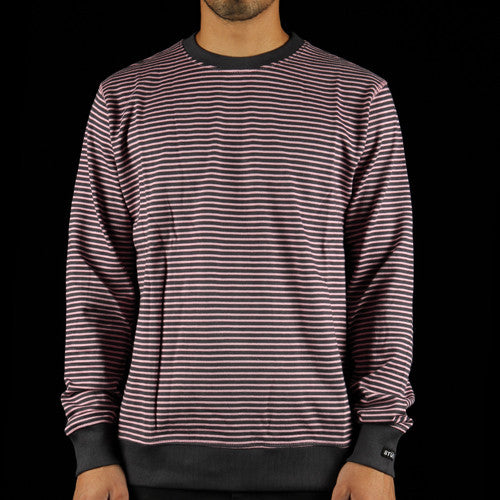 Curtis Stripe Crewneck Sweatshirt