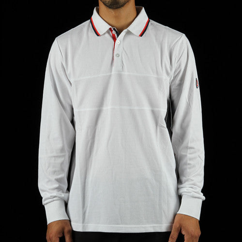 917 Dri-Fit Pique Long Sleeve Polo Shirt