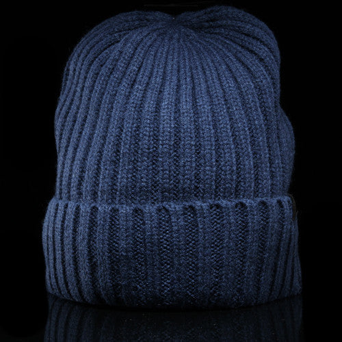 Simple Wool Cuff Beanie