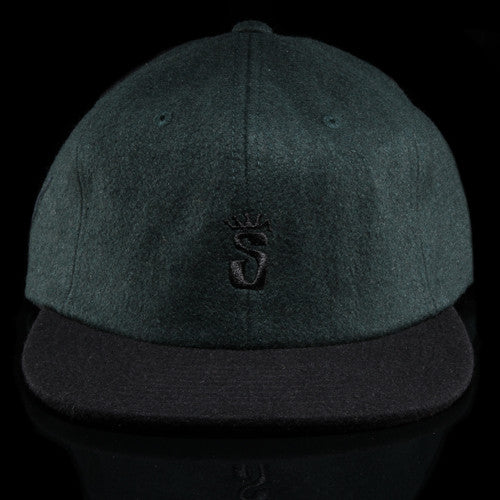 Crown S Wool Snapback Cap