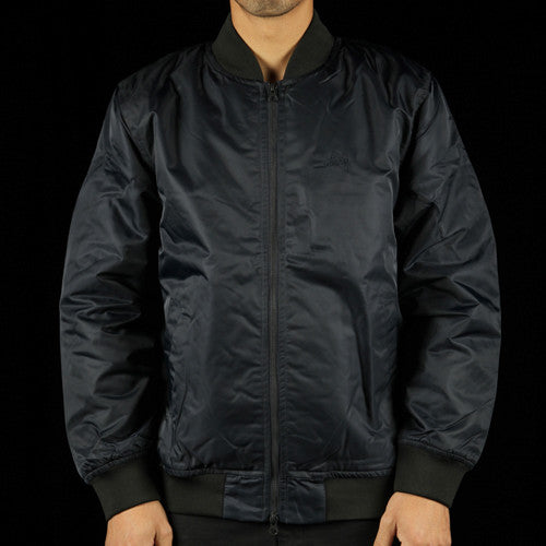Flight Satin Bomber Jacket