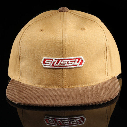 Washed Canvas Strapback Hat