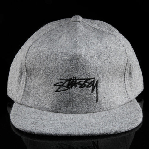 Smooth Stock Melton Strapback Hat