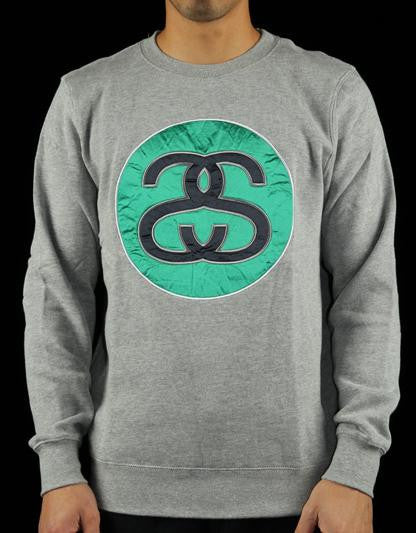 SS Link Applique Crew Sweatshirt
