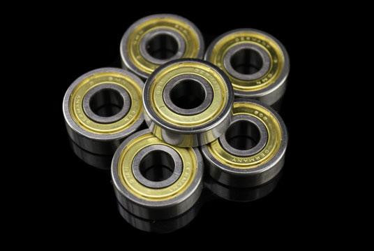 Abec 3 Gold Ring Single Bearing