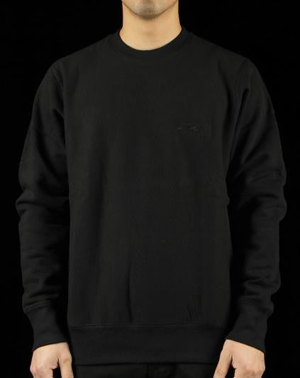 Cross-Grain Embroidered Crewneck Sweatshirt
