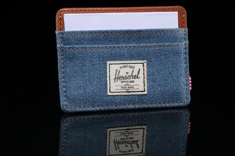 Charlie Denim Wallet