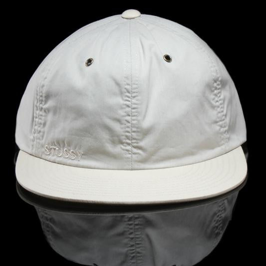 Waxed Cotton Strapback Cap