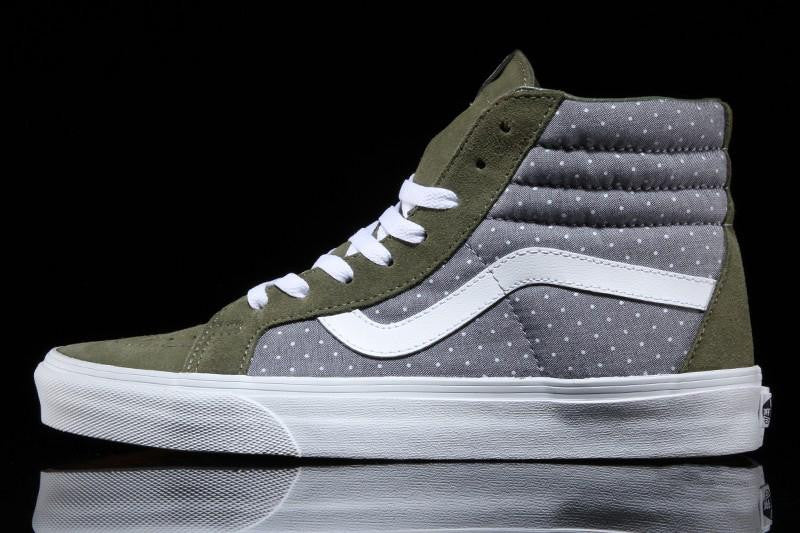 Sk8-Hi Reissue (Chambray Dots)