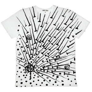 NAILS T-SHIRT | White Limited Edition - MILA FARGO | MF