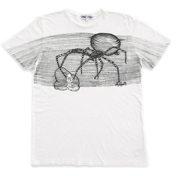 BLACK WIDOW T-SHIRT | White Mila Fargo T shirt