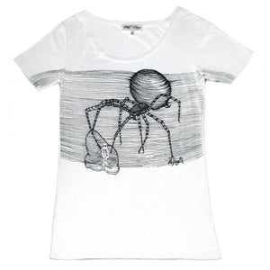 BLACK WIDOW T-SHIRT | White - MF