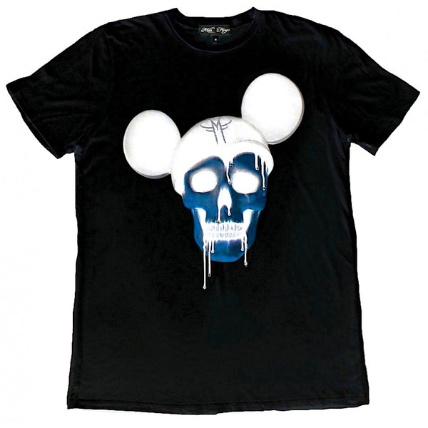 X RAY MICKEY SKULL T-SHIRT ( Limited Edition ) - MF