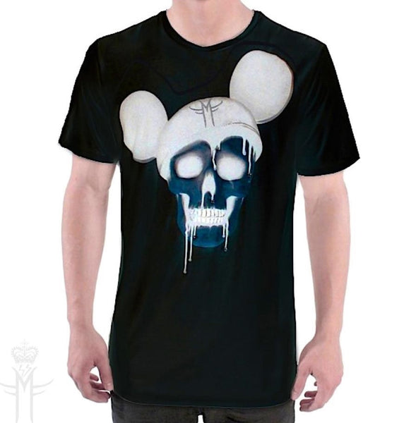 X RAY MICKEY SKULL T-SHIRT ( Limited Edition ) Mila Fargo T shirt