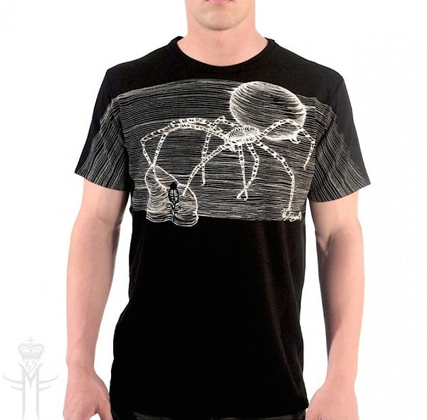 BLACK WIDOW T-SHIRT | Black - MILA FARGO | MF