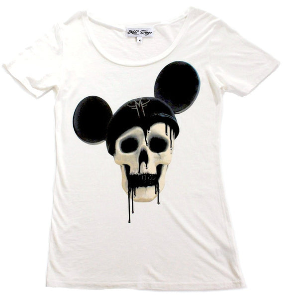 MOUSE DECAY MICKEY SKULL T-SHIRT ( Limited Edition ) - MF