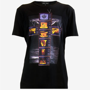 MODERN CRUCIFIXION T-SHIRT | Black - MF