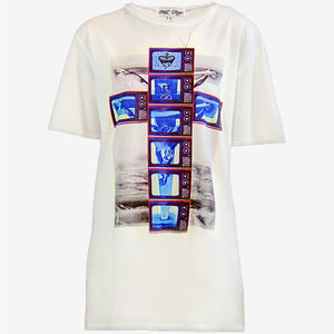 MODERN CRUCIFIXION X T-SHIRT | White - MF