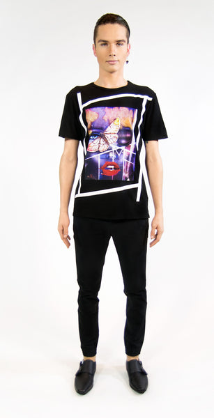 RESURRECTION OF MARILYN T-SHIRT | Black ( LE ) - MF