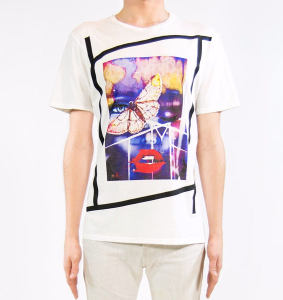 RESURRECTION OF MARILYN T-SHIRT | White ( LE ) Mila Fargo T shirt