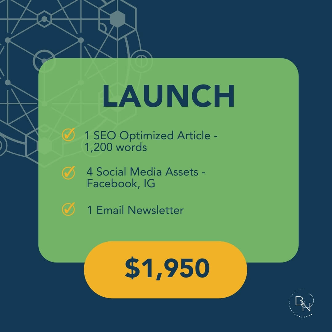 Subscribe to our Launch Service
