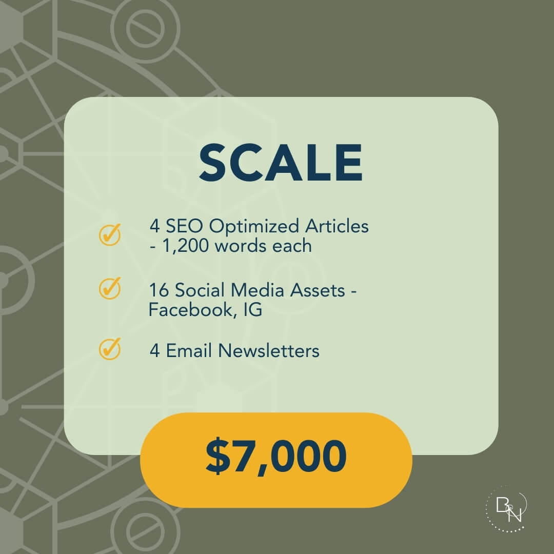 Subscribe to our Scale Service