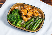 Load image into Gallery viewer, Honey Sesame Chicken Lunch Bowls