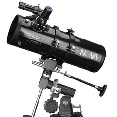 "Telescope, 114mm, 4.5"", Newtonian, EQ, Manual, Nova +"