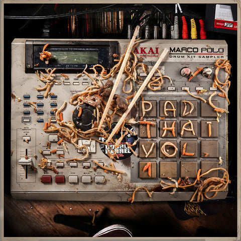 Marco Polo - Pad Thai (Vol. 1) (Drum kit for Producers & Beatmakers)