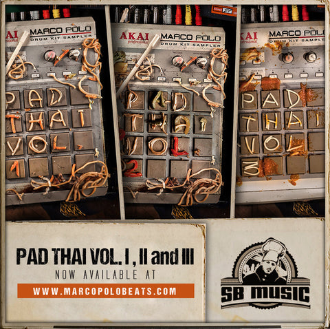 "Pad Thai ""Trilogy Bundle"" (Vol. 1-3)"