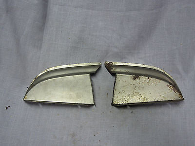 1951 Ford radiator grille bar end 1A-8380 1A-8380 LH RH NOS - Andrew's Automotive Archaeology